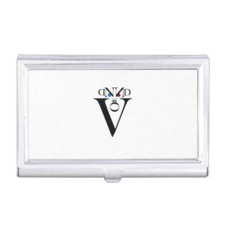 Porte-cartes de carte de visite de visage de porte-cartes de visite