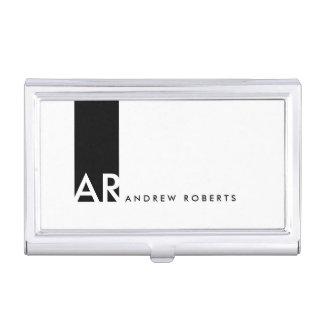 Porte-cartes de carte de visite propre rouge noir boîtiers pour cartes de visite