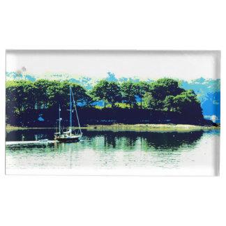 porte-cartes de croisière de table de voilier porte-photos