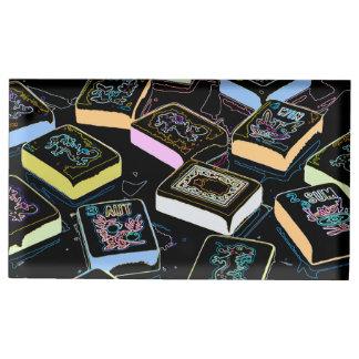 Porte-cartes de dragons d'heure-milliampère Jongg Porte-cartes De Table
