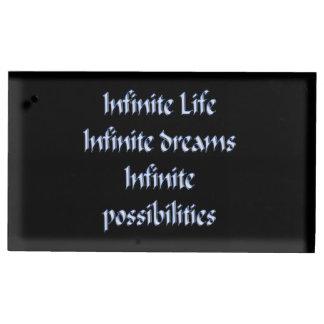 Porte-cartes De Placement La vie infinie, rêves infinis, infinis…