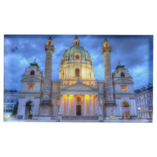 Porte-cartes De Placement L'église de Charles de saint à Vienne, Autriche