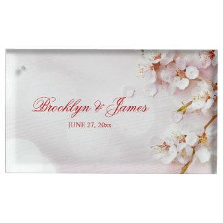 Porte-cartes De Placement Porte-cartes blancs de Tableau de mariage de