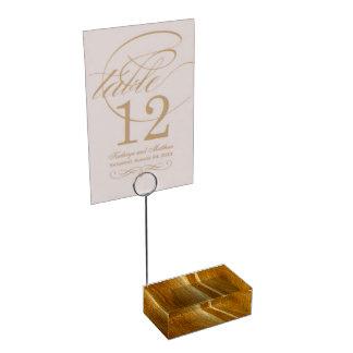 Porte-cartes De Placement Texture en bois de Faux en bois de pin II