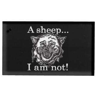 Porte-cartes De Placement Un mouton, je ne suis pas