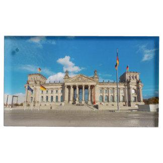 Porte-cartes De Table Point de repère AR de bâtiment de l'Allemagne
