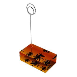 Porte-cartes De Table Porte-cartes de Tableau de partie de plage de