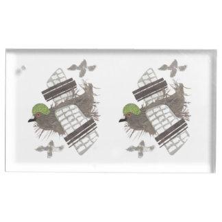 Porte-cartes de Tableau plat de pigeon Porte-carte De Table
