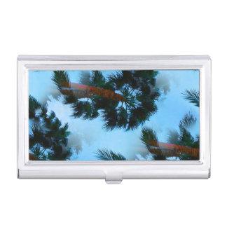 Porte-cartes De Visite Caisse de carte de visite de palmiers