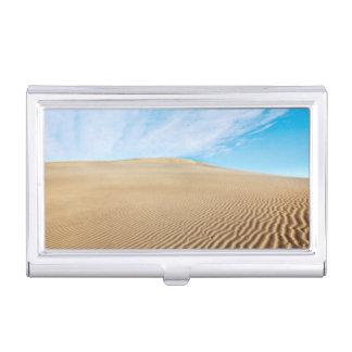 Porte-cartes De Visite Dunes de sable d'appartements de mesquite