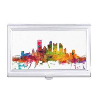 Porte-cartes De Visite Horizon de Pittsburgh Pennsylvanie