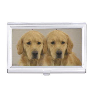 Porte-cartes De Visite Jumeaux de golden retriever