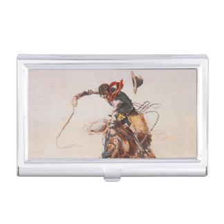 Porte-cartes De Visite La vie de cowboy de PIÈCE EN T