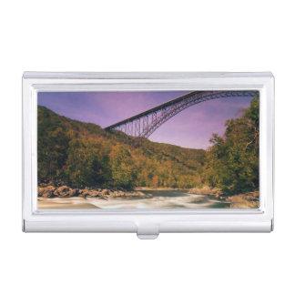 Porte-cartes De Visite La Virginie Occidentale, parc d'état Babcock