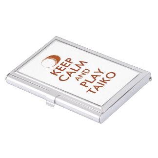 Porte-cartes De Visite Les cadeaux de Taiko gardent la coutume de tambour