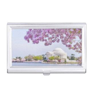 Porte-cartes De Visite Les Etats-Unis, Washington DC, cerisier en fleur
