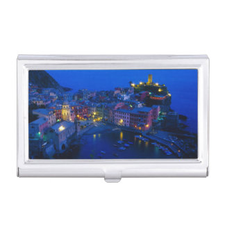 Porte-cartes De Visite L'Europe, Italie, Cinque Terre, Vernazza. Hillside
