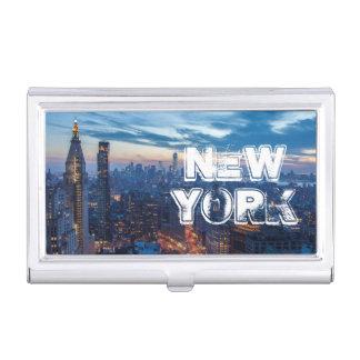 Porte-cartes De Visite New York City, NY, Etats-Unis
