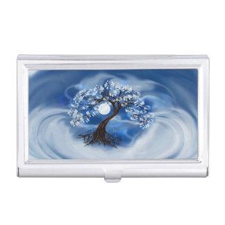 Porte-cartes De Visite Nuages de tempête et caisse de carte de visite
