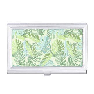 Porte-cartes De Visite Palmettes tropicales en pastel