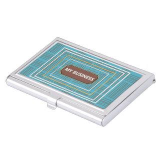 Porte-cartes De Visite Traits horizontaux verticaux porte-cartes de
