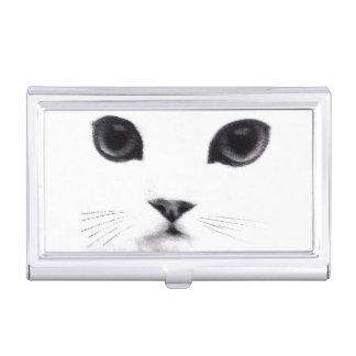 Porte-cartes De Visite Visage classique de chat