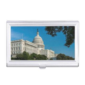 Porte-cartes De Visite Vue occidentale de bâtiment de capitol