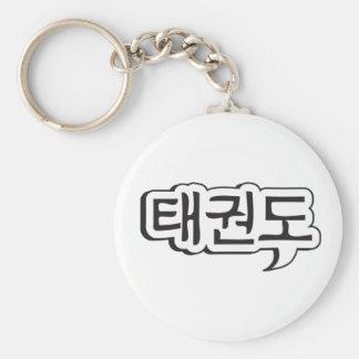 Porte - clé 1 du Taekwondo Porte-clé Rond