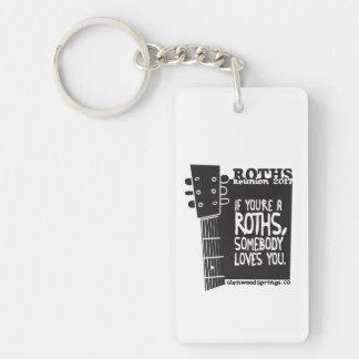 Porte - clé acrylique porte-clefs