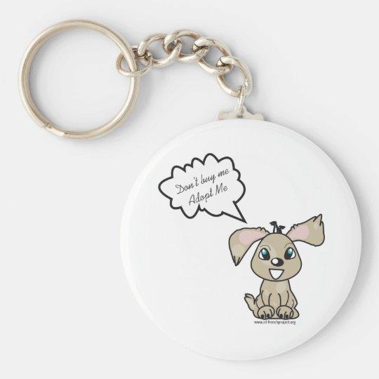Porte-clé Adopt a Dog