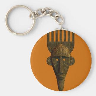 Porte - clé africain rituel de masque porte-clés
