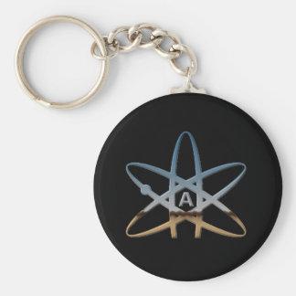 Porte - clé athée de symbole porte-clés