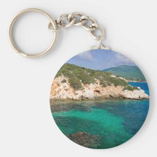 Porte - clé avec la vue de mer de Sardaigne Porte-clés