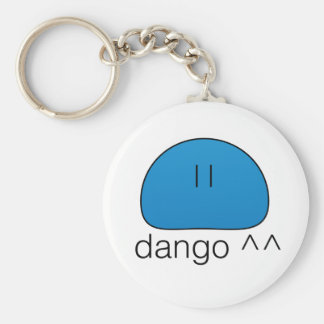 Porte - clé bleu de Dango Porte-clé Rond