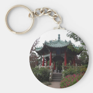 Porte - clé chinois de pavillon de San Francisco Porte-clés