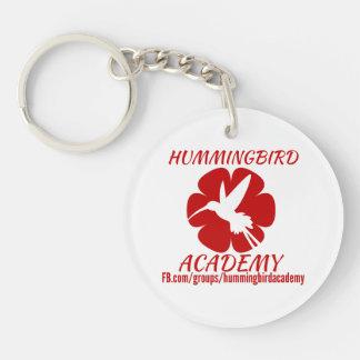 Porte - clé d'académie de colibri porte-clés
