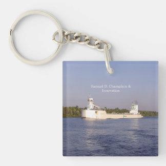 Porte - clé d'acrylique de Samuel D. Champlain et Porte-clefs