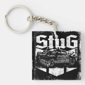 Porte - clé d'acrylique de StuG III Porte-clé Carré En Acrylique Double Face