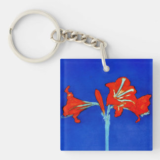 Porte - clé d'amaryllis de Mondrian Porte-clefs