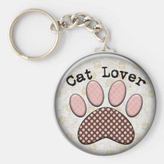 porte - clé d'amoureux des chats porte-clés