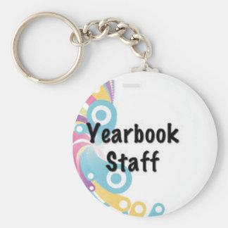 Porte - clé d'annuaire porte-clé rond