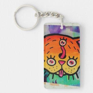 Porte - clé d'art de rue de sifflement porte-clés