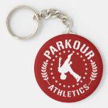 Porte - clé d'athlétisme de Parkour Porte-clé Rond
