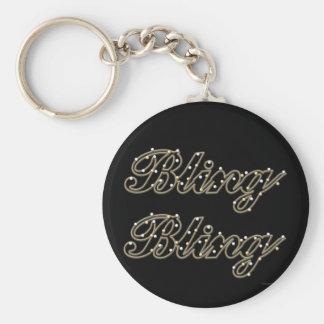 Porte - clé de Bling-Bling Porte-clé Rond