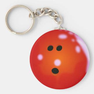 Porte - clé de boule de bowling porte-clés