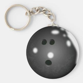 Porte - clé de boule de bowling porte-clé rond