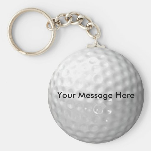 Porte - clé de boule de golf porte-clef