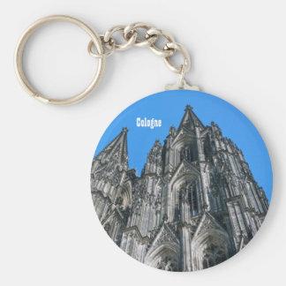 Porte - clé de cathédrale de Cologne Porte-clé Rond