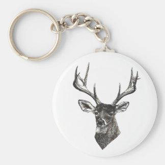 Porte - clé de cerfs communs porte-clés