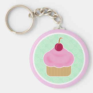 Porte - clé de cerise de petit gâteau de Kawaii Porte-clés